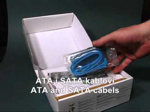 H55N-USB3 Otpakivanje
