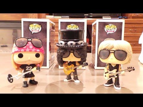 Gun N' Roses Funko POPS!