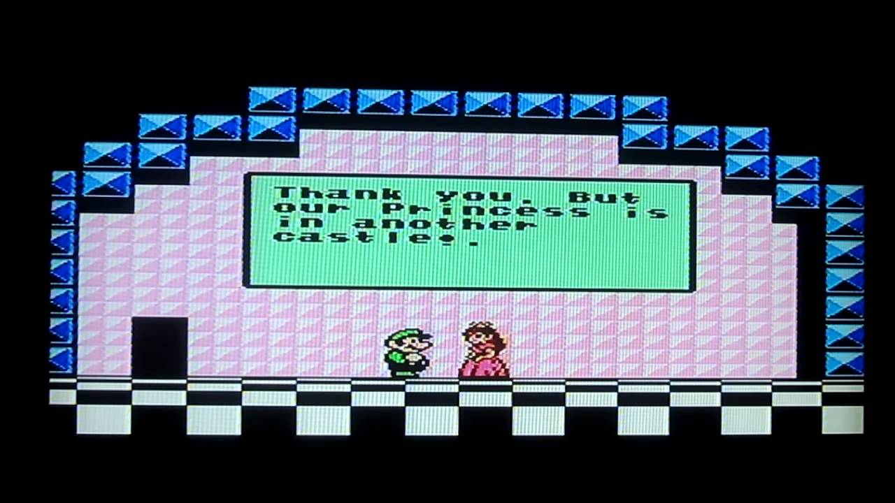Super Mario Bros 3 Nes World 8 Bowser S Castle With Ending