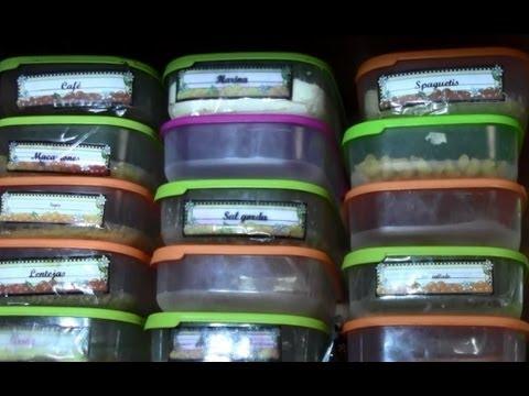 Organizar los armarios o alacenas eficientemente organize for Como organizar mi armario