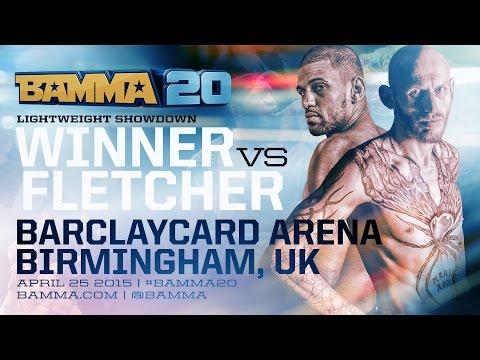 BAMMA 20 (Co-Main Event) Andre Winner Vs. Colin Fletcher