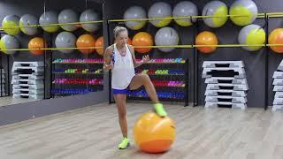 Fitberry - ФИТНЕС ДОМА - тренировка на все тело с фитболом