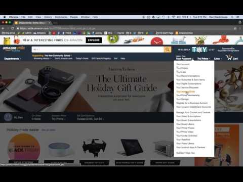 Amazon Smile Tutorial