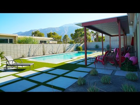Palm Springs House Tour | WahlieTV