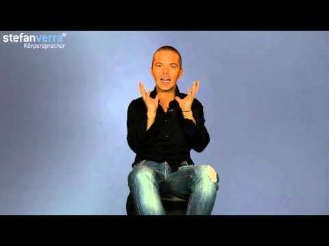 Körpersprache Tipp: Interesse zeigen im Sitzen