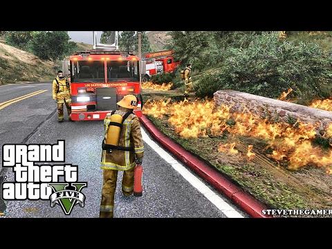 GTA 5 SAFD - Rescue Mod V - FIREFIGHTER 15 - (GTA 5 - Rescue Mod V - FIREFIGHTER ) Unedited