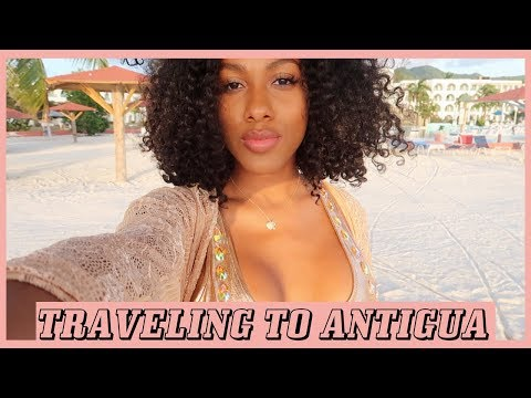 TRAVELING TO THE ISLAND OF ANTIGUA FOR THE FIRST TIME!