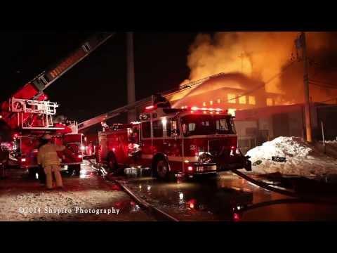 ShapPhoto Cicero IL massive warehouse fire 1-21-14
