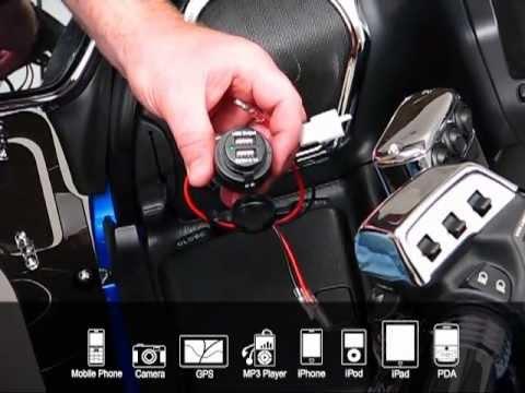 2 Port Usb Auxiliary Socket Youtube