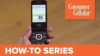 Alcatel Go Flip: Sending and Receiving Text Messages (3 of 7) | Consumer Cellular