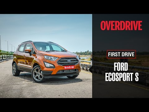 Ford EcoSport S EcoBoost   First Drive Review   OVERDRIVE
