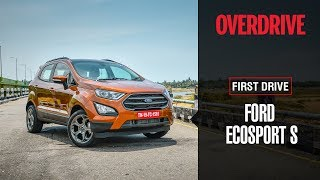 Ford EcoSport S EcoBoost | First Drive Review | OVERDRIVE