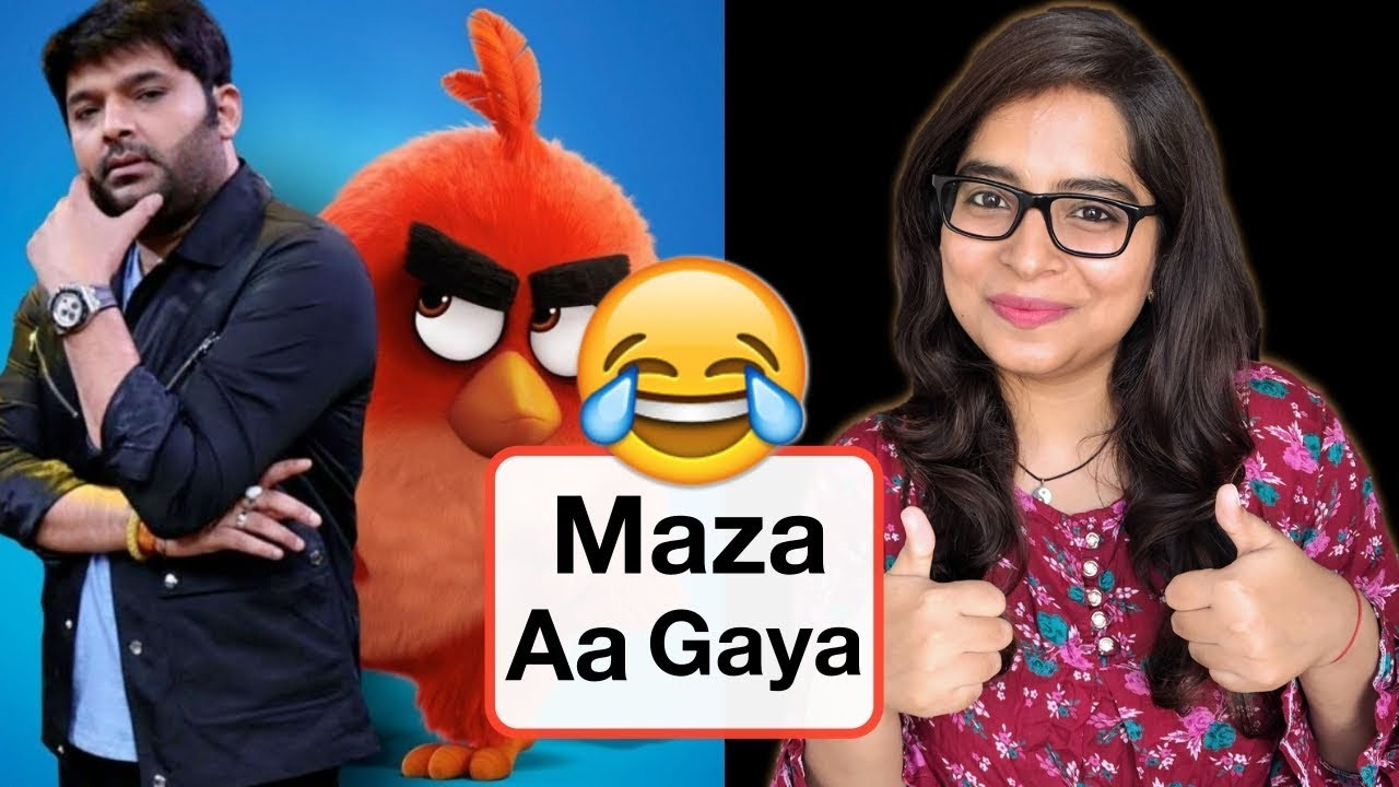 The Angry Birds 2 Movie Review Deeksha Sharma Youtube