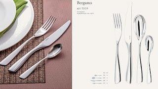 Обзор столовых приборов Gottis Bergamo (24 предмета / 6 персон)