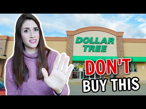 Stop Buying These Things From The Dollar Tree