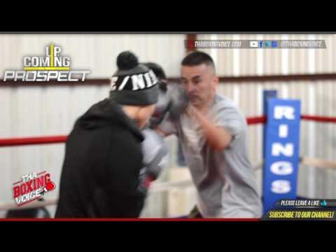 Ignacio Hoguin Jr  Full Workout Premier Boxing Gym