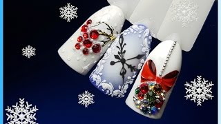 ❄3 новогодних дизайна ногтей❄Patrisa nail❄