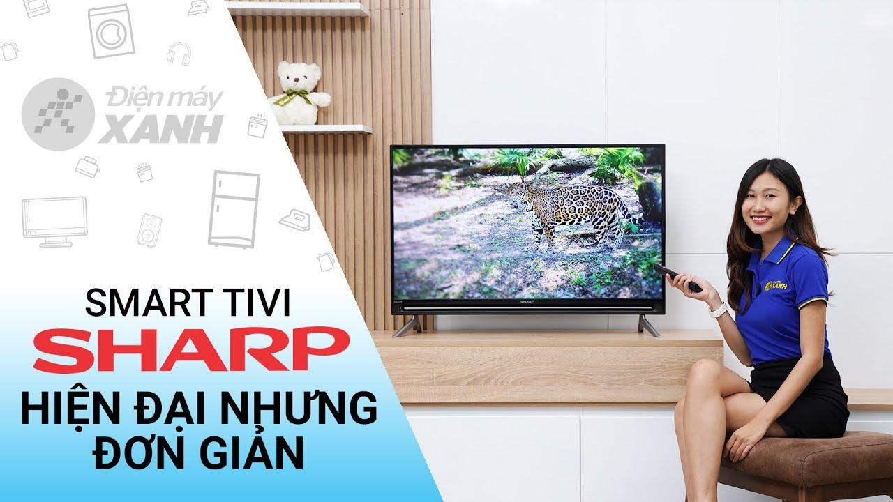 Dòng Smart Tivi Sharp SA5500X (40 inch, 50 inch)