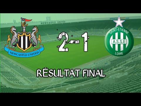 Newcastle 2-1 ASSE Les Buts Du Match ⚽️
