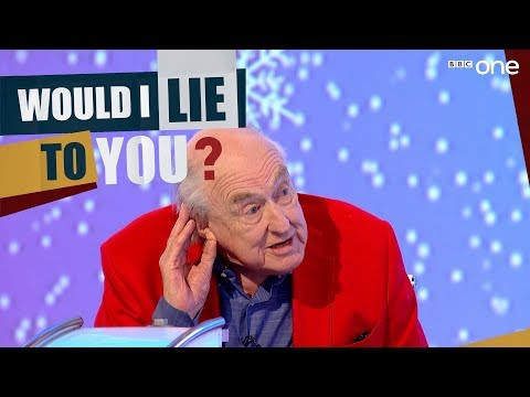 Does Henry Blofeld fake a common voice? - Would I Lie To You At Christmas Series 11 - BBC One