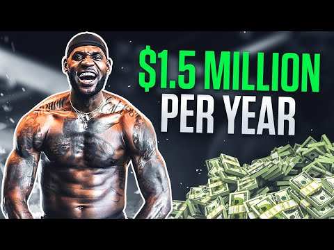 How LeBron Spends $1.5 Million On His Body Each Year