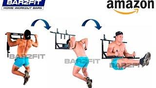 Barra para Dominadas, Fondos, Abdominales - Entrenamiento de Calistenia, Crossfit, Workout, Fitness