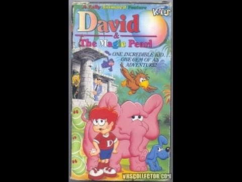 David and the Magic Pearl Trailers From David And The Magic Pearl 1989 VHS YouTube