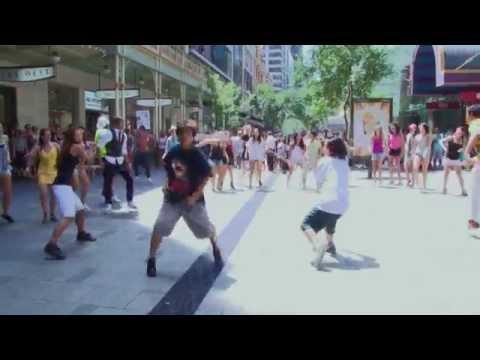 Flashmob Pitt St Mall Sydney