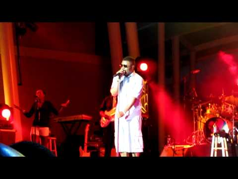 Musiq Soulchild Halfcrazy @ The Country Club Hills Theater 6-26-10