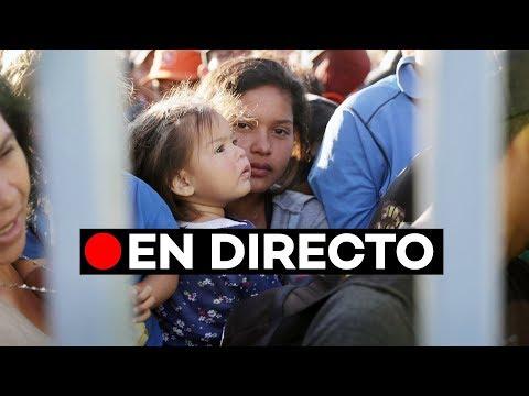 EN DIRECTO: La caravana de migrantes se reagrupan en Mexicali para ir hasta Tijuana