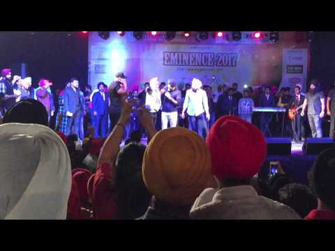 Ranjit bawa live in delhi at sri guru gobind singh college of commerce, university of Delhi fest2017