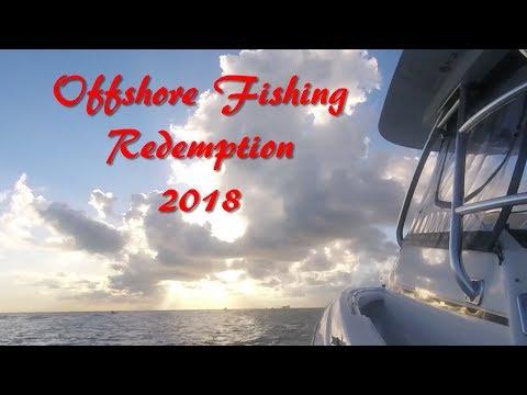 Galveston Texas Offshore Fishing Trip 2018