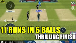 🔥BUMRAH JUST SAVE THE HALF MATCH | ENG NEED 11 RUNS IN 6 BALLS | THRILLING FINISH IN REAL CRICKET 1