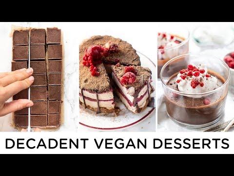 decadent-vegan-desserts-‣‣-easy-*no-bake*-recipes