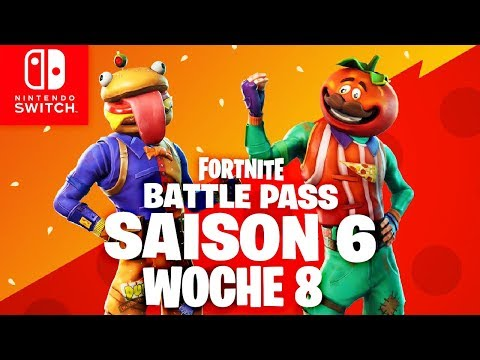 🔴 GEHEIMER Battle Pass Banner & Woche 8   Fortnite Nintendo Switch Deutsch