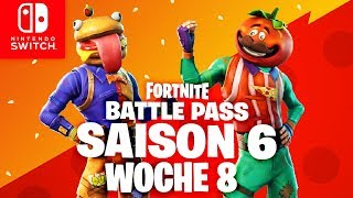 🔴 GEHEIMER Battle Pass Banner - Semaine 8 Fortnite Nintendo Switch (en)