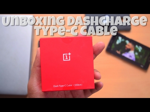 OnePlus Dash Type C Cable (150cm) Unboxing & Quick Review
