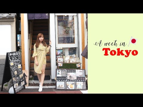 A Week in Tokyo     Travel Diary