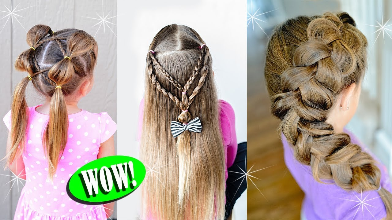 10 Cute Back To School Hairstyles For Little Girls