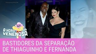 Fabíola revela os bastidores da separação de Thiaguinho e Fernanda