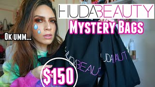 HUDA BEAUTY MYSTERY BAGS... I CAN'T BELIEVE THIS!