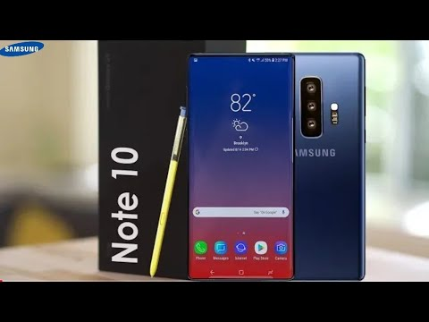 Samsung Galaxy Note 10 Official Video   Galaxy SX Note Concept 2019