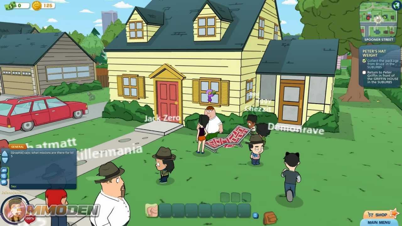 Family Guy Online Game