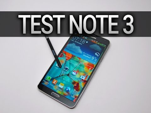 Test du Samsung Galaxy Note 3 - par Test-Mobile.fr