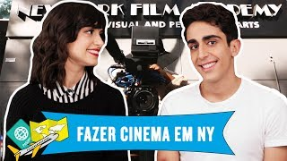 ESTUDAR CINEMA NA NEW YORK FILM ACADEMY!