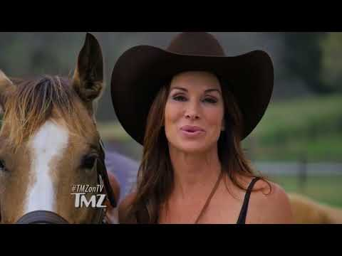 Debbe Dunning on TMZ for Debbe Dunning's Dude Ranch RoundUp  11022017