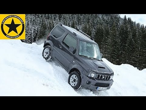 Suzuki Jimny 2014 stuck!