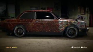 Need For Speed 2015 - Volvo 242 - Sticker Bomb, Rat Style, Tuning