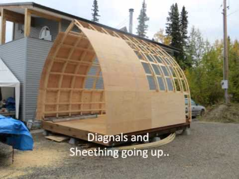 Bow Roof Shed Movie Youtube