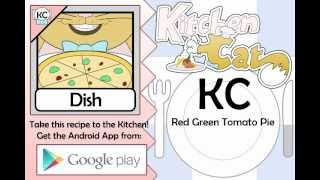 Red Green Tomato Pie - Kitchen Cat